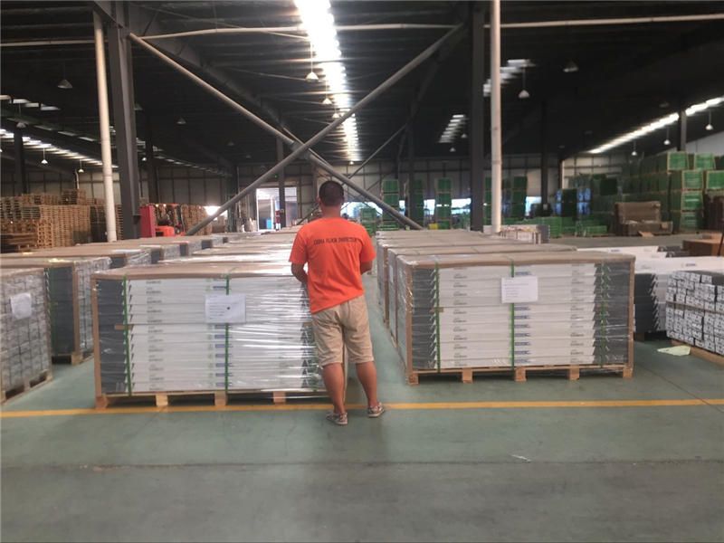 Loading pallets checking
