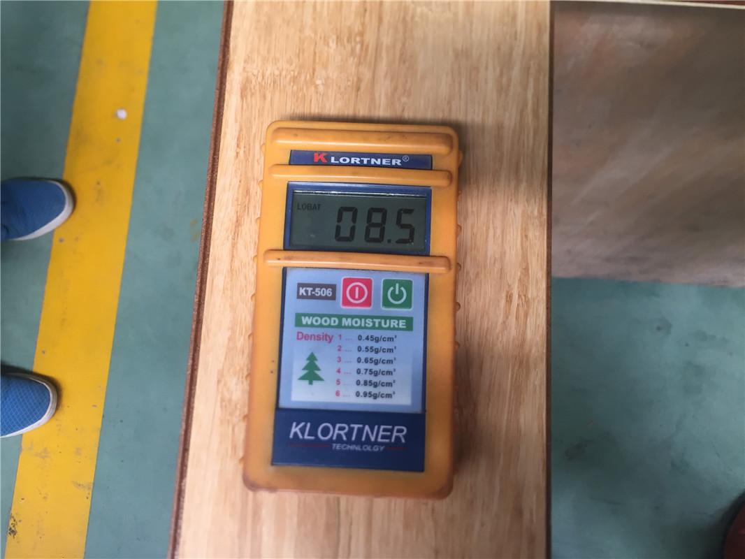 Flooring moisture content