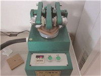 Paint wear resistance test machine