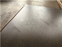 Unqualified flooring coating