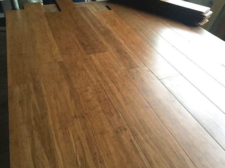 bamboo flooring inspection on-site