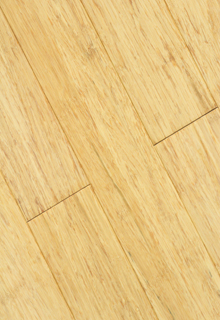 Natural color strand woven bamboo flooring